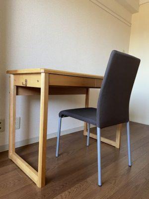 カレッジタウン家具付き机・椅子見本